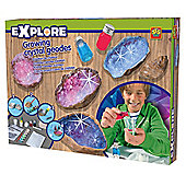 Growing Crystal Geodes