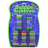 Bubble Bubbles 5x 2.3oz Pots Of Bubble Solution