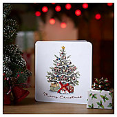 Luxury Traditional Tree Christmas Cards, 6 pack