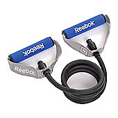 Reebok Elements Level 3 Resistance Tube, Grey/Blue