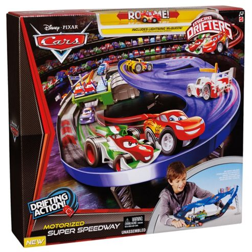 Cars Micro Drifters Playset