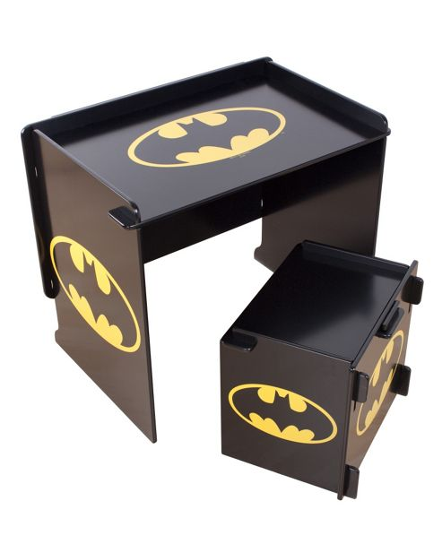 Character World Batman Batcave Desk and Stool