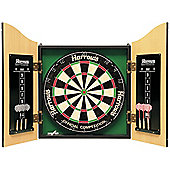 Harrows Pro's Choice Full Official Competition Bristle Dartboard Dart Set