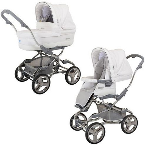Bebecar Stylo EL Magic Combination Pram (Arctic White)