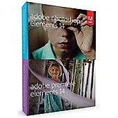 Adobe Photoshop Premiere + Elements 14 Mac/Win DVD