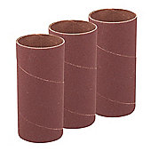 Silverline 114mm Bobbin Sleeves 3pk 51mm 60 Grit
