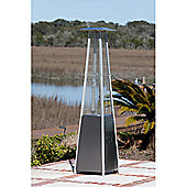 Sun Tastic Stainless Steel Pyramid Flame Heater