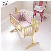 Clair de Lune Honeycomb 2pc Crib Set - Pink