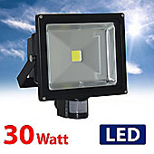 MiniSun IP65 High Powered 30W Daylight LED Floodlight with PIR Sensor