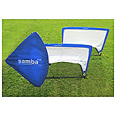 Samba 4ft SquarePop-Up Goal x2