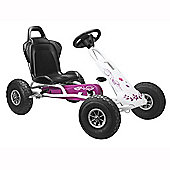 Ferbedo Air Runner AR-1 Go Kart Pink and White