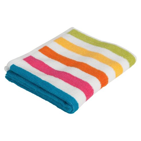 Tesco Bright Stripe Hand Towel