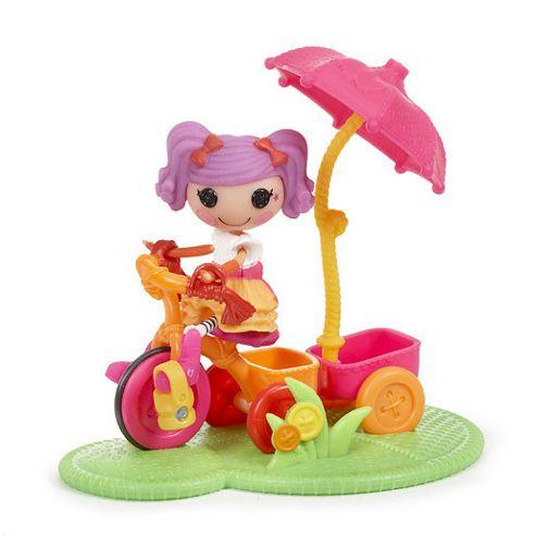 Mini Lalaloopsy Doll Playground - Peanut Big Top Tricycle