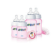 Philips AVENT Newborn Pink Starter Set - Exclusive to Mothercare