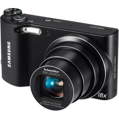 Samsung WB250F Camera Black 16.4MP 18xZoom 3.0TouchLCD 720pHD 24mm Wide SD/SDHC/