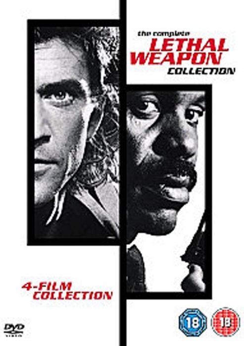 Lethal Weapon Collection - 1 - 4 Boxset  (DVD Boxset)