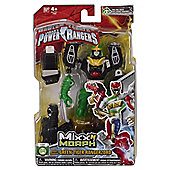 Power Rangers Mixx N Morph Figure Green Tiger Ranger Zord