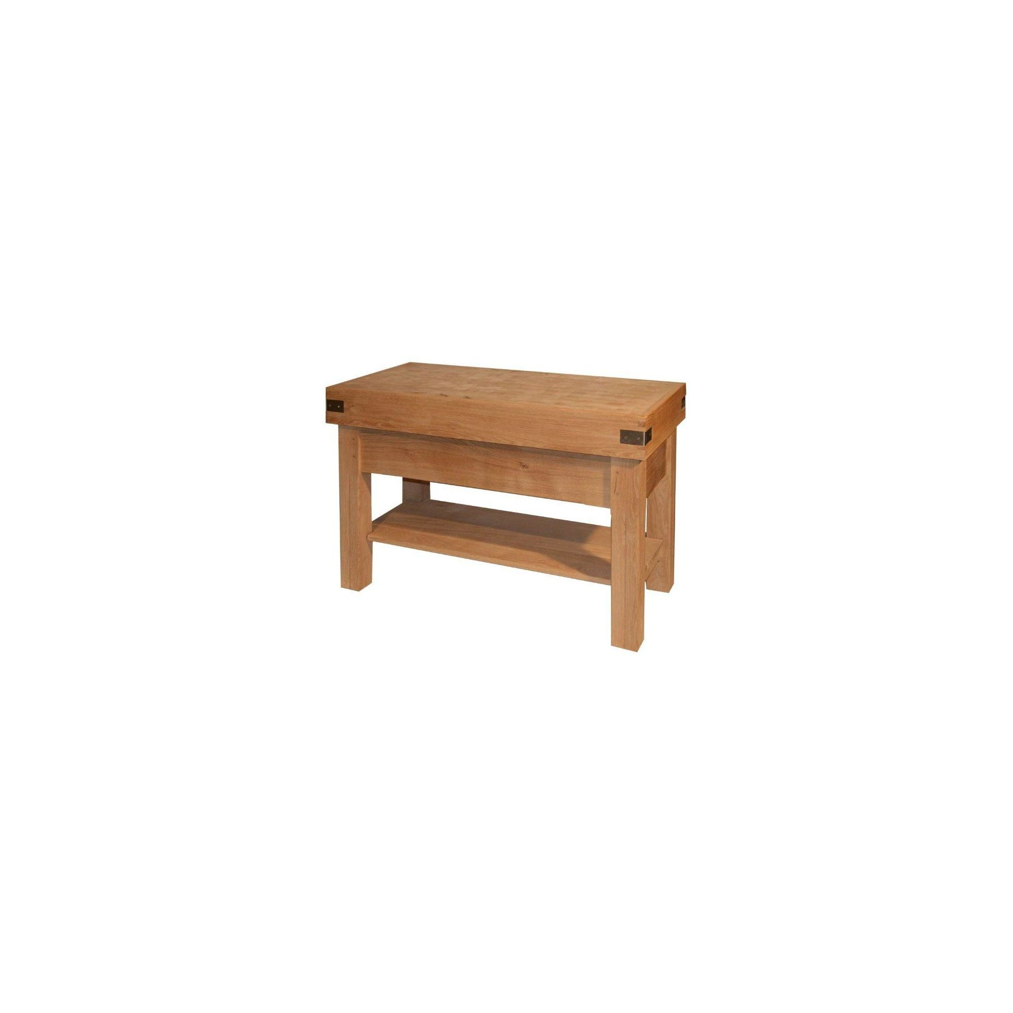 Chabret Traditional Kitchen Island Block - 85cm X 120cm X 60cm at Tesco Direct