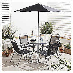Hawaii Garden Furniture Set, 6 piece