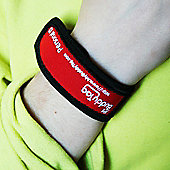 Buddy Tag Child Tracking Device Wristband - Red Velcro
