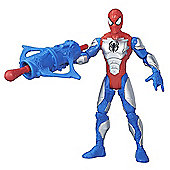 Marvel Ultimate Spider-Man Sinister 6: 15cm Action Figure - Armoured Spider-Man