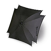 Universal Pram Pushchair Sun Parasol - Sun Umbrella Shade Canopy - Black