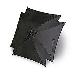 Universal Pram Pushchair Sun Parasol - Sun Umbrella Shade Canopy - Black