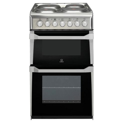 Indesit IT50E1(XX)S, Stainless Steel, Electric Cooker,  Single Oven, 50cm