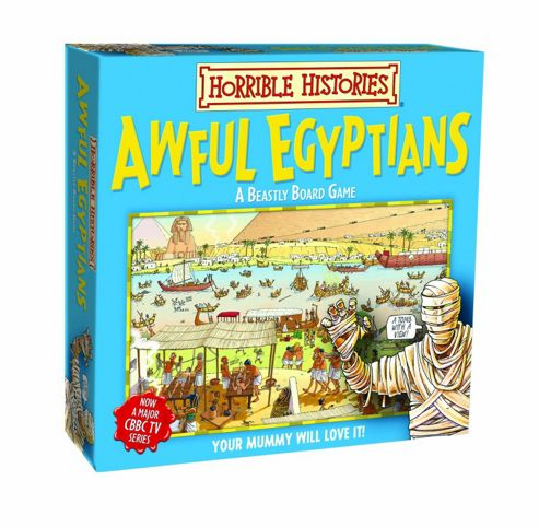 Board Game - Awful Egyptians - Green Board Games