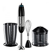 Russel Hobbs 20220 Illumia 3-in-1 Hand Blender, with 3 Accessories, in Black