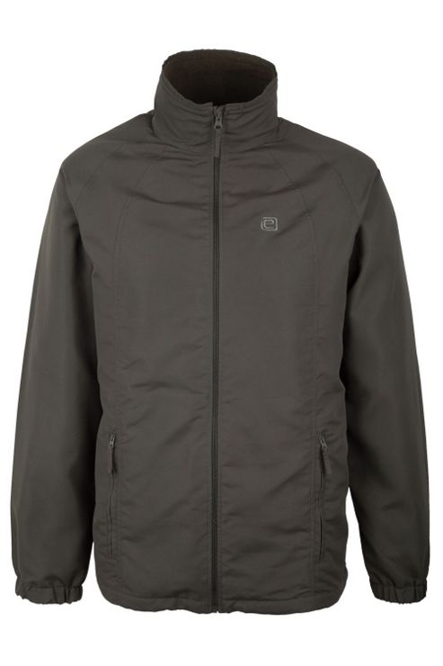 Moorland Mens Water-Resistant Fleece Lined Sporty Coat Jacket