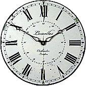 Roger Lascelles Clocks Lascelles Clockmaker Dial Wall Clock