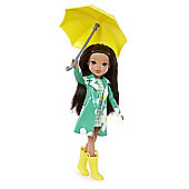 Moxie Girlz Raincoat Coluor Splash Doll Sophina