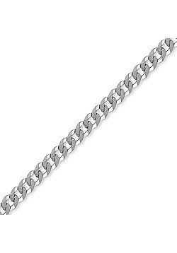 Sterling Silver 6mm Gauge Curb Chain - 26 inch