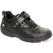 Start-Rite Boys Arachnid H Black Casual Shoes - Black
