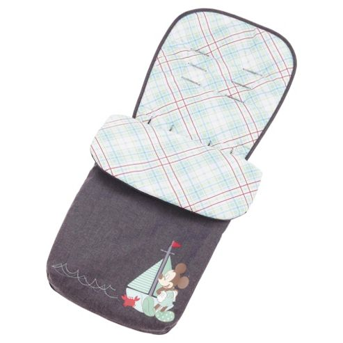 Obaby Footmuff Retro Denim Mickey
