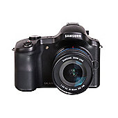 Samsung Galaxy NX Camera Black 18-55mm Kit 20.3MP 4.77LCD 720pHD WiFi MicroSD