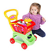 Candy & Ken Market Trolley with Detachable Basket and Accessories