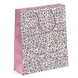 Ditsy Pink Flower Gift Bag
