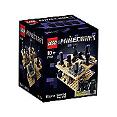 LEGO Minecraft Microworld: The End 21107