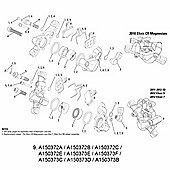 Avid Caliper Assy X0 (CPS) Silver