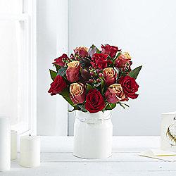 Autumn Rose & Hypericum Bouquet
