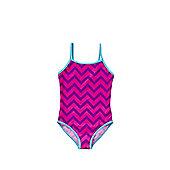 F&F Zigzag Swimsuit - Multi