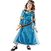 Brave Merida Costume (Deluxe) Medium