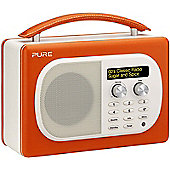 PURE EVOKE MIO DAB/FM RADIO (PAPRIKA ORANGE/RED)