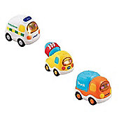 Vtech Toot Toot Bundle - 1 x Ambulance 1 x Cement 1 x Truck