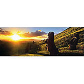 Easter Island - 1000pc Panoramic Puzzle