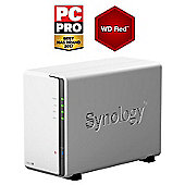 Synology DiskStation DS216J/8TB-RED 2-Bay 8TB(2x4TB WD RED) Desktop NAS Solution
