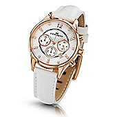 Kennett Ladies Lady Savro Rose Gold White Watch LWSAVWHGOLWH