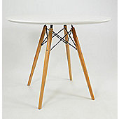 Eames DSW Dining Table White